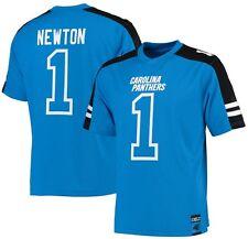 Cam Newton Carolina Panthers NFL Mens Hashmark Jersey Blue Big & Tall Sizes