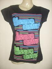 The Mission District girls/ladies neon pop T-shirt  Medium  XL 1980's