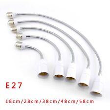 E27 to E27 Flexible light bulbs base Socket Converters Holder Extension plug