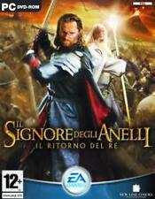 IL SIGNORE DEGLI ANELLI IL RITORNO DEL RE GIOCO IN ITALIANO PC LORD OF THE RINGS
