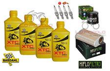 KIT TAGLIANDO 4L BARDAHL XTC C60 + FILTRI E CANDELE HONDA CBR 600 F 2011 2012