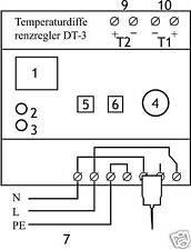 Temperaturdifferenzregler DT-3, Laderegler für Speicher