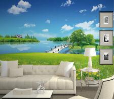 3D Grass scenery photo 1090 Wall Paper Wall Print Decal Wall Deco AJ WALLPAPER