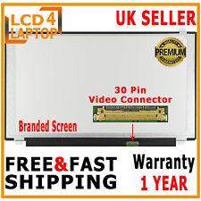 "15.6 LED Screen 30pin eDP Resolution 1366 x 768 HD Glossy Display LCD 15.6"" Slim"