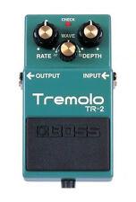 Boss Tremolo TR-2 Tremolo Guitar Effect Pedal Rolland Japan Eric Claptons Sound
