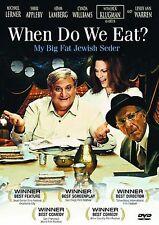 When Do We Eat? My Big Fat Jewish Seder (Full Screen  2006) NEW DVD