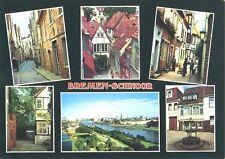 AK, Bremen Schnoor, 6 Abb., Teilansichten, ca. 1986