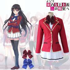 Hot!Classroom of the Elite Horikita Suzune School dress uniforms cosplay costume
