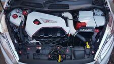 Aluminium Engine Cap Set Ford Fiesta mk7 oil coolant brake washer dipstick