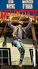 NEW VHS McLintock: Pat / John Wayne Maureen O'Hara Stephanie Powers Van Dyke