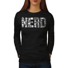 Learn Computer Parts Geek Women Long Sleeve T-shirt NEW | Wellcoda