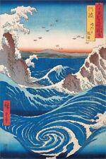 Hiroshige Naruto Whirlpool Poster 61 x 91.5cm