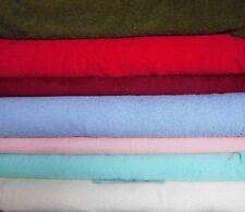 Frottee (€15/m²) 0,3 m Frotteestoff Handtuch Stoff versch. Farben 1,5m breit