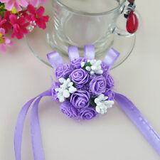 Creative Wedding Bridesmaid Prom Wrist Corsage Pearl Bracelet Hand Wrist Flower