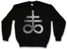 LEVIATHAN CROSS PULLOVER satanism Symbol 666 Sign Double Church of Satan Devil