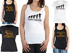 Damen Jäger T-Shirt Damshirt Jagd Bekleidung Frauen Sprüche Jäger Geburtstag