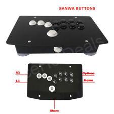 RAC-J500B SANWA Buttons Fight Stick Game Controller Hitbox Joystick for PS4