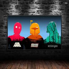 Star Wars Original Movies Poster Print Wall Art A4 A3 A5 Sith Jedi Kids - 1048