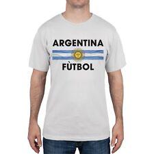 FIFA - Argentina Crest White Soccer Adult Mens T-Shirt