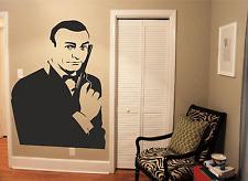 James Bond (Sean Connery)  Wall Art Sticker Vinyl Decals