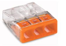 Verbindungsdosenklemme, 3-Leiter-Klemme, Compact Wago 2273-203