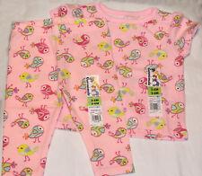 Baby Girls Outfit Pink Birds SHIRT & LEGGINGS Pants 0-3 MO,3-6 MO