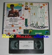 VHS ELVIS PRESLEY Blue hawaii 1987 ITALY UNIVIDEO EC 592 no cd mc dvd lp(VM4)