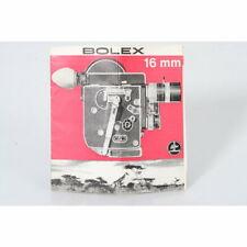 Bolex Prospekt 16mm 1956