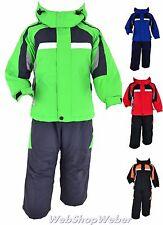 Skianzug Kinder Mädchen Jungen Schneeanzug Skijacke Skihose Winteranzug 98-164
