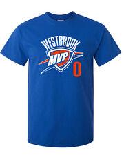 "Russell Westbrook Oklahoma City Thunder ""MVP"" T-shirt  S-XXXX NEW"