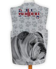 Novelty Gilet Fun Fancy Dress informel Wacky Parti Dog show Bulldog Paw