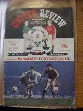 10/02/1991 Football League Cup Semi-Final: Manchester United v Leeds United  (Cr