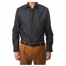 INDIGO AND GOODS men's shirts denim blue mod GULLIVER SHIRT 100% cotton