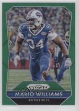 2015 Panini Prizm Green Prizms #189 Mario Williams Buffalo Bills Football Card