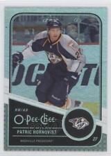 2011-12 O-Pee-Chee Rainbow Foil #193 Patric Hornqvist Nashville Predators Card