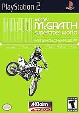 Jeremy McGrath's Supercross World (PS2), Excellent PlayStation2, Playstation 2 V