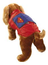Cappottino Impermeabile Cane Superman - Vestito per cani *14824