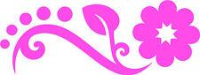 Pink Daisy Flower Car, Camper Van Window Sticker LSF~5