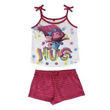 Pyjama Schlafanzug Kinder Nachtwäsche Trolls Poppy