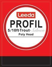 Leeda Profil Fluorocarbon Tippet 50m 6 Sizes 3-10lb 1-6X Fly Fishing Leader