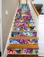 3D Sea plants Stair Risers Decoration Photo Mural Vinyl Decal Wallpaper AU