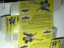 REPLIQUE  BOITE CANON 250 OBUSIER /  SOLIDO 1963