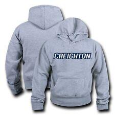 NCAA Creighton University Hoodie Sweatshirt GameDay Fleece Pullover Heather Grey