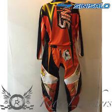 SINISALO TIH2 ORANGE MX MOTO-X TOUT TERRAIN MOTO JERSEY ET ENSEMBLE PANTALON
