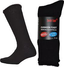 Bulk Men's Wool Work Socks 7-11