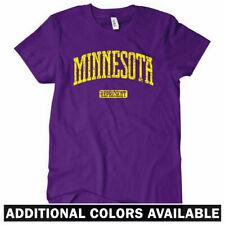 MINNESOTA REPRESENT Women's T-shirt - MN Minneapolis Gophers Twins Vikings S-2XL