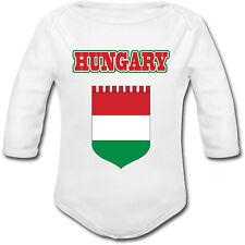 Body Bébé Football Hongrie Hungary - Euro 2016