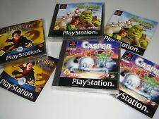 Colección ps1 PlayStation 1 Shrek Treasure Hunt casper Friends Harry Potter