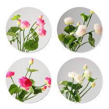 Decorations Artificial Fake Lotus Bud Bouquet DIY Craft Flowers Wedding Garden