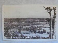 RPPC VISTA OF MT. RAINIER FM HWY 99 WASHINGTON Real Photo Postcard WA CIRCA WWII